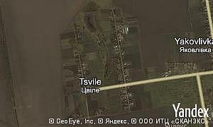 Map of  village Tsvile
