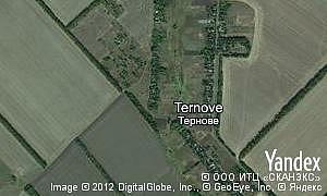 Map of  village Ternove