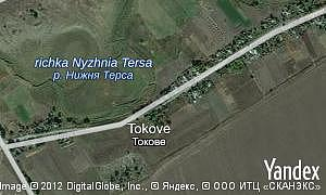 Map of  village Tokove