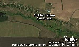 Map of  village Sukha Kalyna