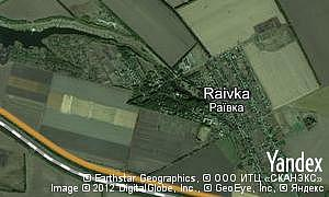 Map of  village Raivka