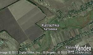 Yandex map of  village Katrazhka