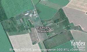 Map of  village Mazhary