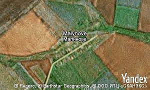 Map of  village Malynove