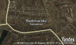 Map of  village Bashmachka