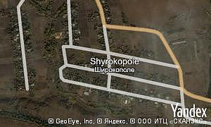 Map of  village Shyrokopole