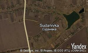 Map of  village Sudanivka