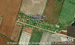 Map of  village Propashne