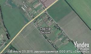 Map of  village Dalnie