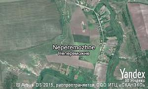 Map of  village Neperemozhne