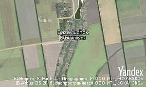 Map of  village Bazavluchok