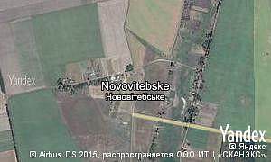 Map of  village Novovitebske