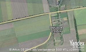 Map of  village Otrubok