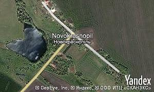 Map of  village Novokrasnopil