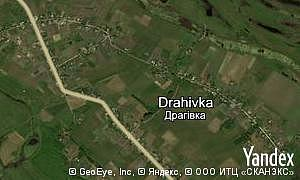 Map of  village Drahivka