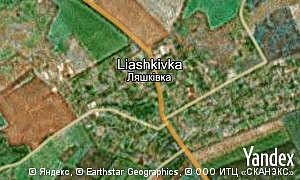Map of  village Liashkivka