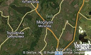 Map of  village Mogilyov